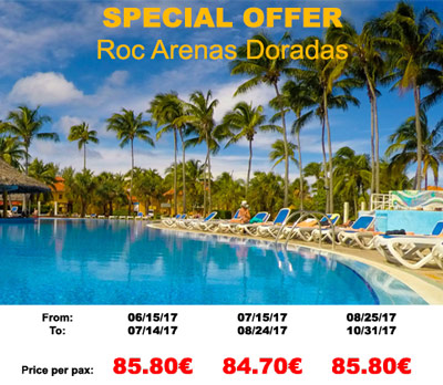 Offer Arenas Doradas